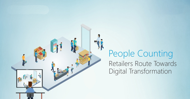 People Counting in Retail with IoT